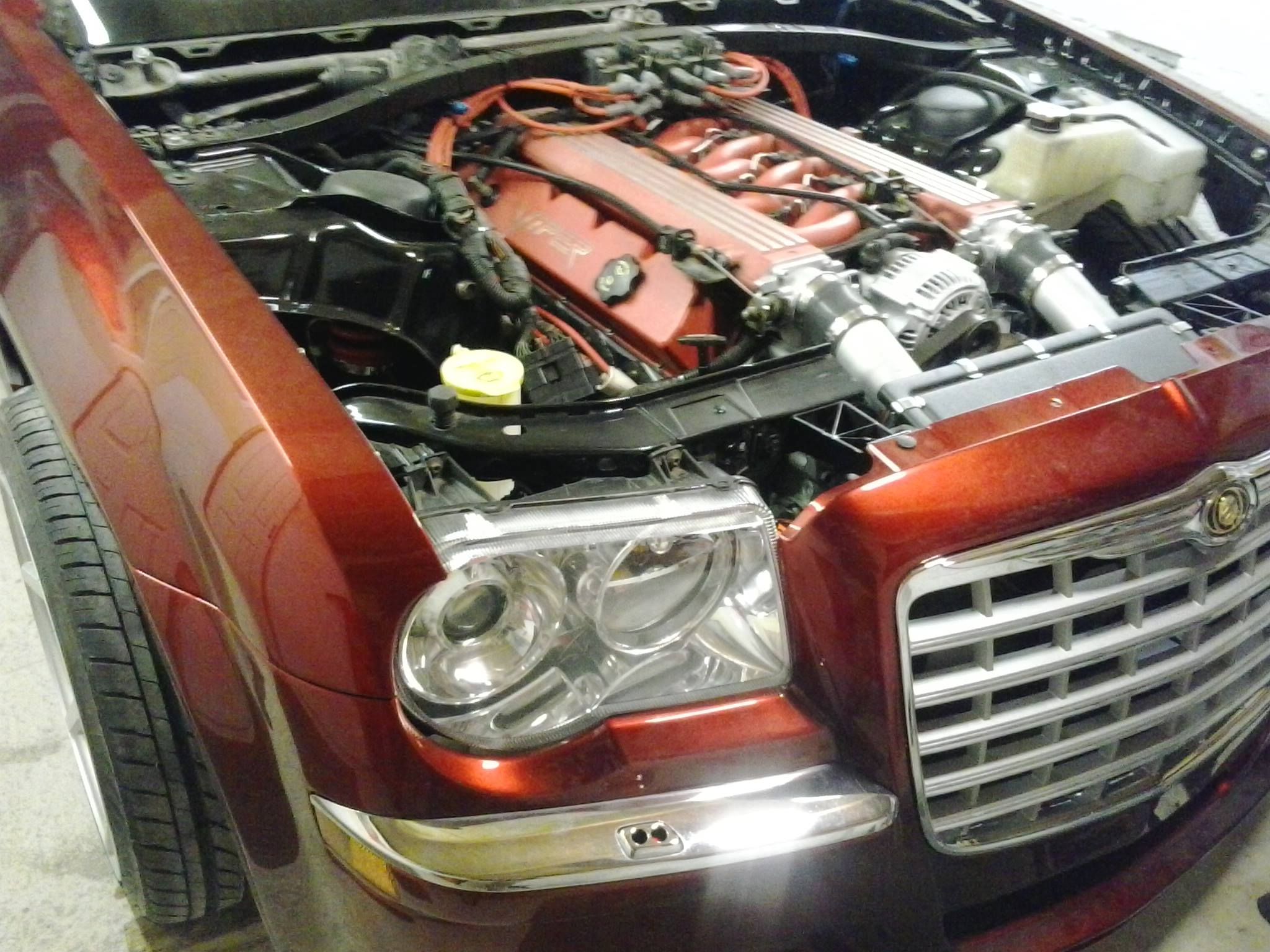 Chrysler 300c With A Viper V10 Engine Swap Depot
