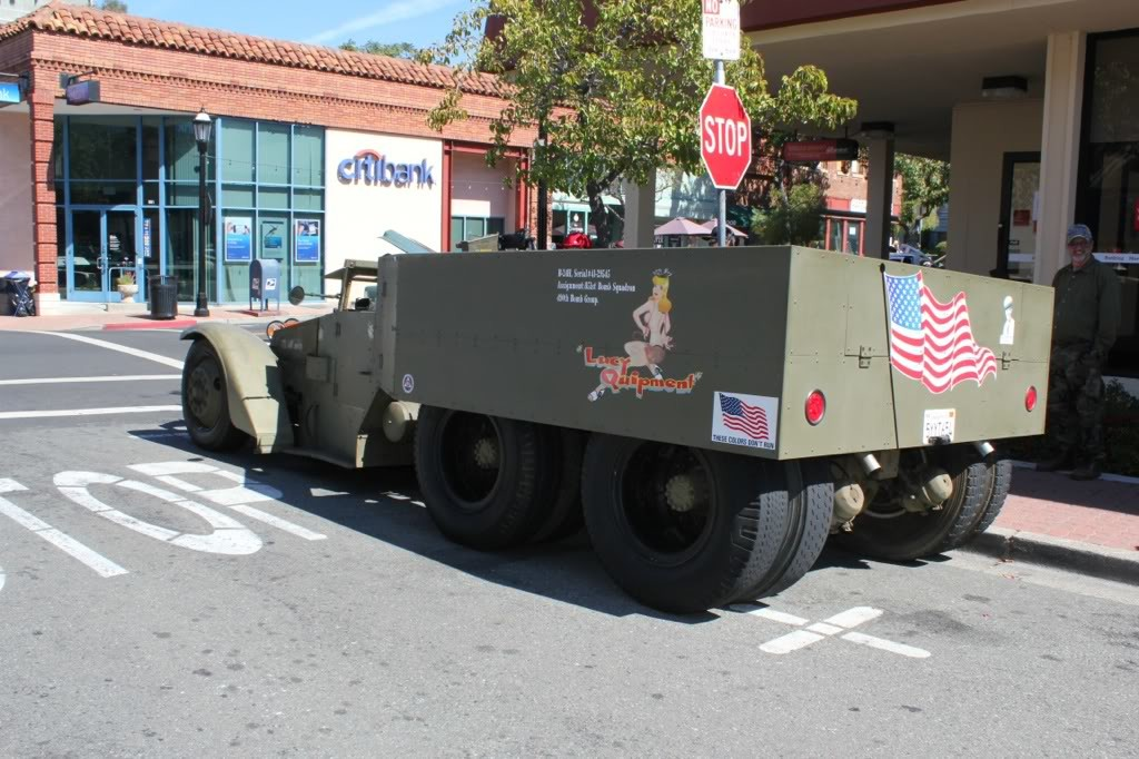 Custom Twin 454 V8 engine Army M3 half-track truck
