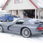 Hallenborg Twin-turbo 7.0 L LSx powered Orange Viper Replica
