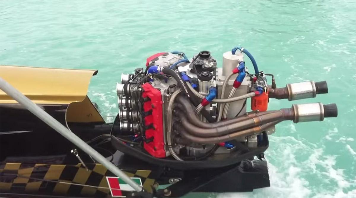 hartley h1 v8 powered boat  u2013 engine swap depot