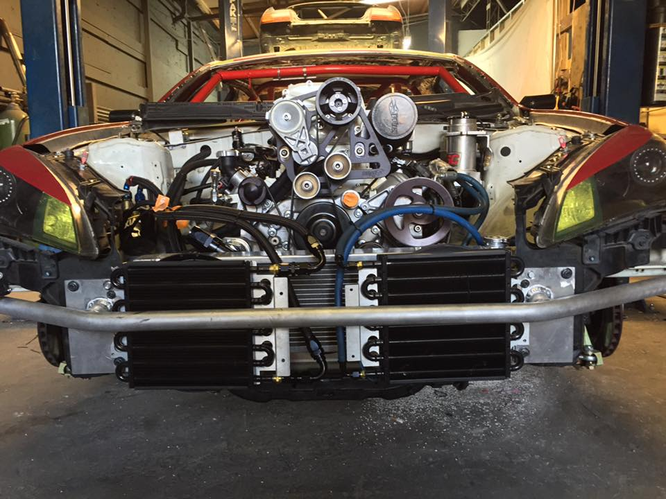 Hyundai Genesis Coupe with a 1,000 HP supercharged LS3