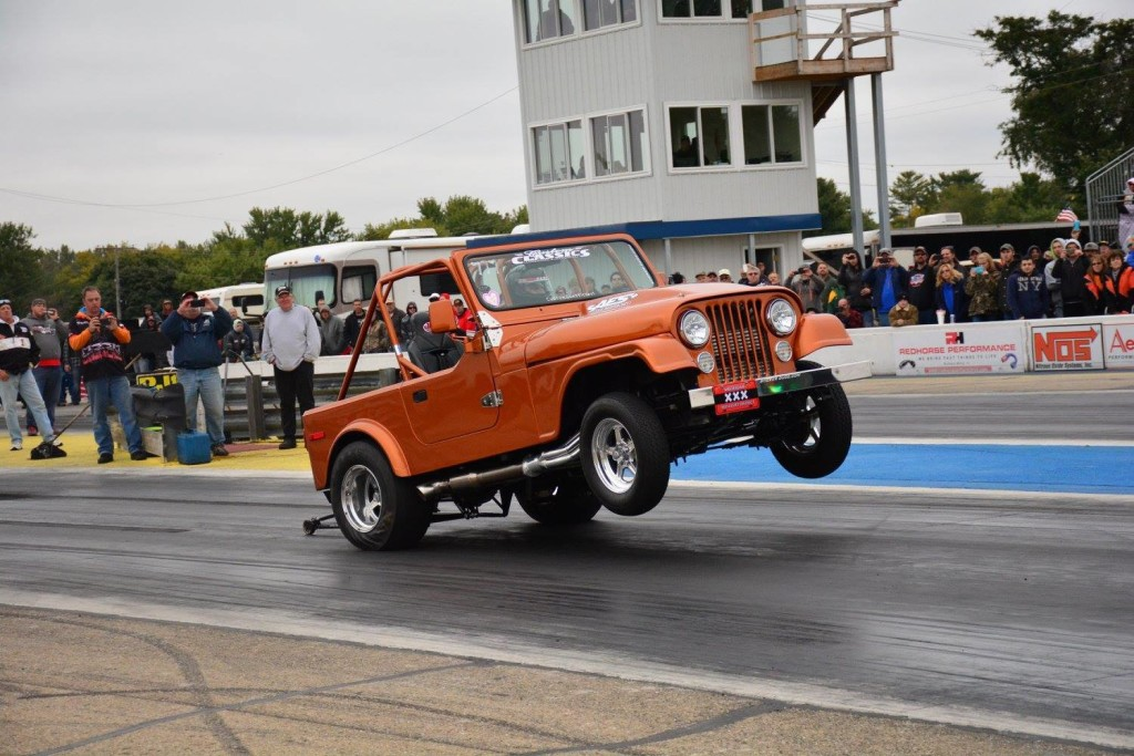 1980 Jeep CJ-7 with a supercharged 408 ci V8