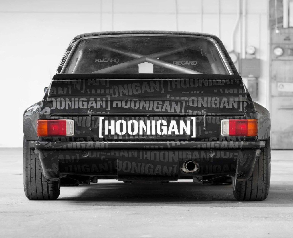 Ken Block's 1978 Ford Escort with a 2.5 L Millington Diamond Series II I4