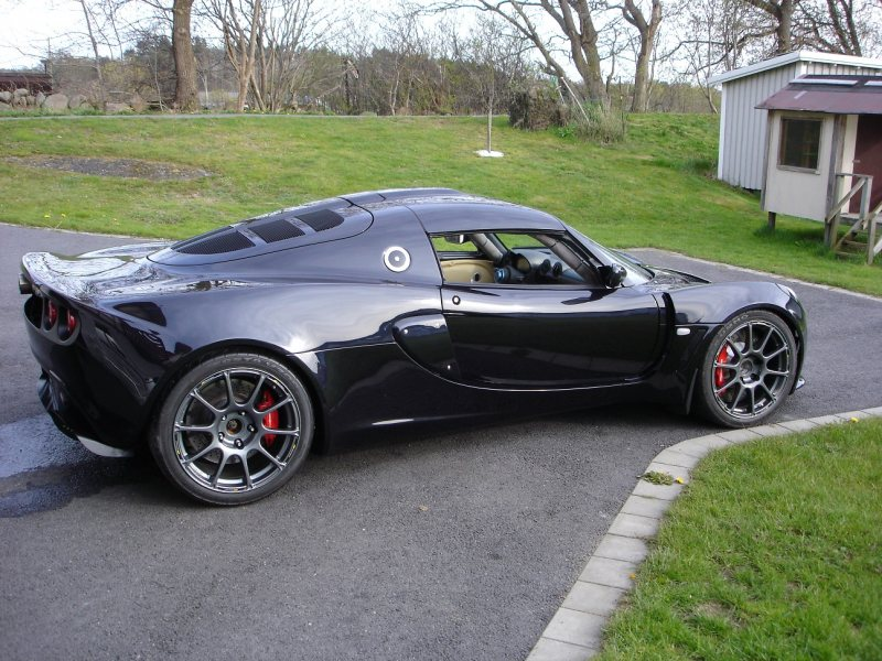 Lotus Exige With A Bmw V10 Engine Swap Depot