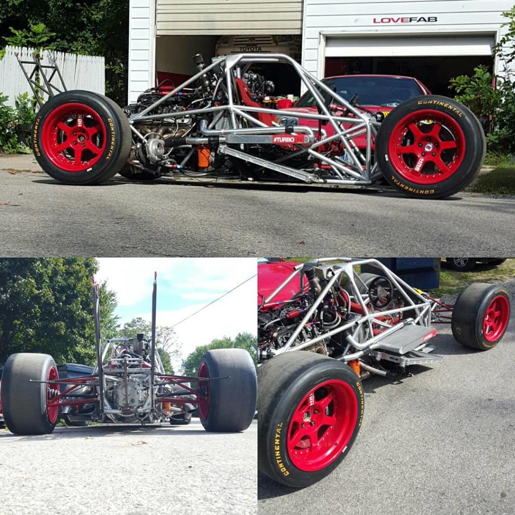LoveFab's Enviate v2.0 Twin-turbo LQ9 V8 Pikes Peak race car