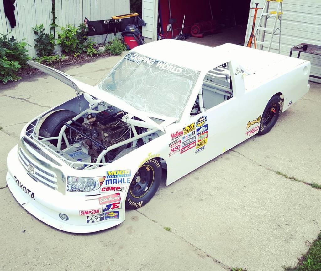 LoveFab's Torquezillion 6.7 L Cummins Diesel Pikes Peak race car