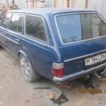 Mercedes W123 Wagon with a 7.3 L AMG V12