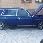 Mercedes W123 Wagon with a 7 3 L V12 - engineswapdepot com