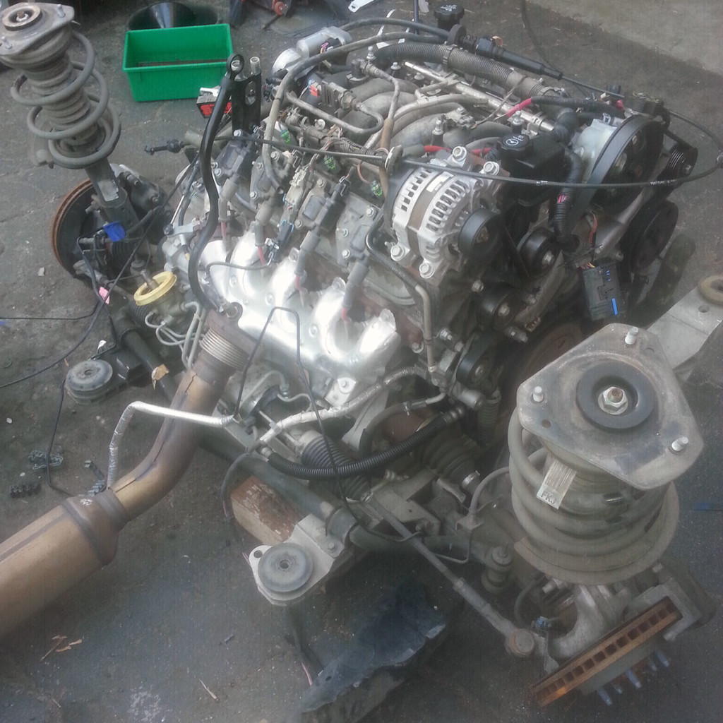 Nissan 240sx With A Mid Engine Ls4 Engine Swap Depot
