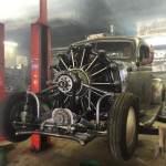 Plymouth Truck with a 757 ci Jacobs R-755-A2 Radial Aircraft Engine
