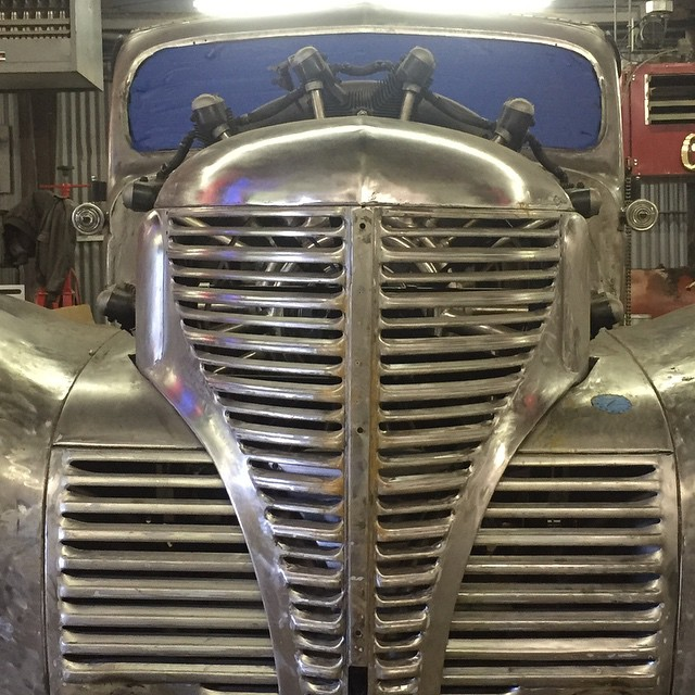 Plymouth Truck with a Radial Aircraft Engine – Engine Swap Depot
