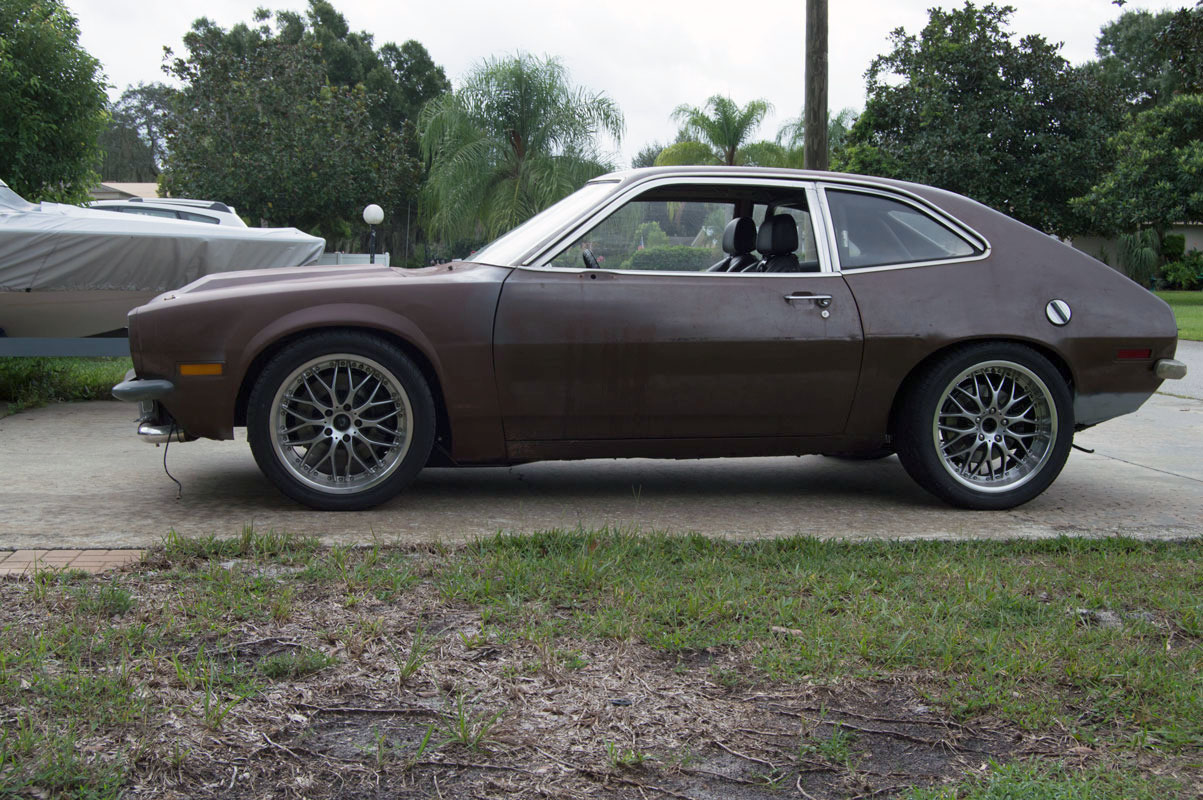 This pro touring 1974 ford pinto is being offered for sale out of central florida with an asking price of 5800 obo and trades the engine is a completely