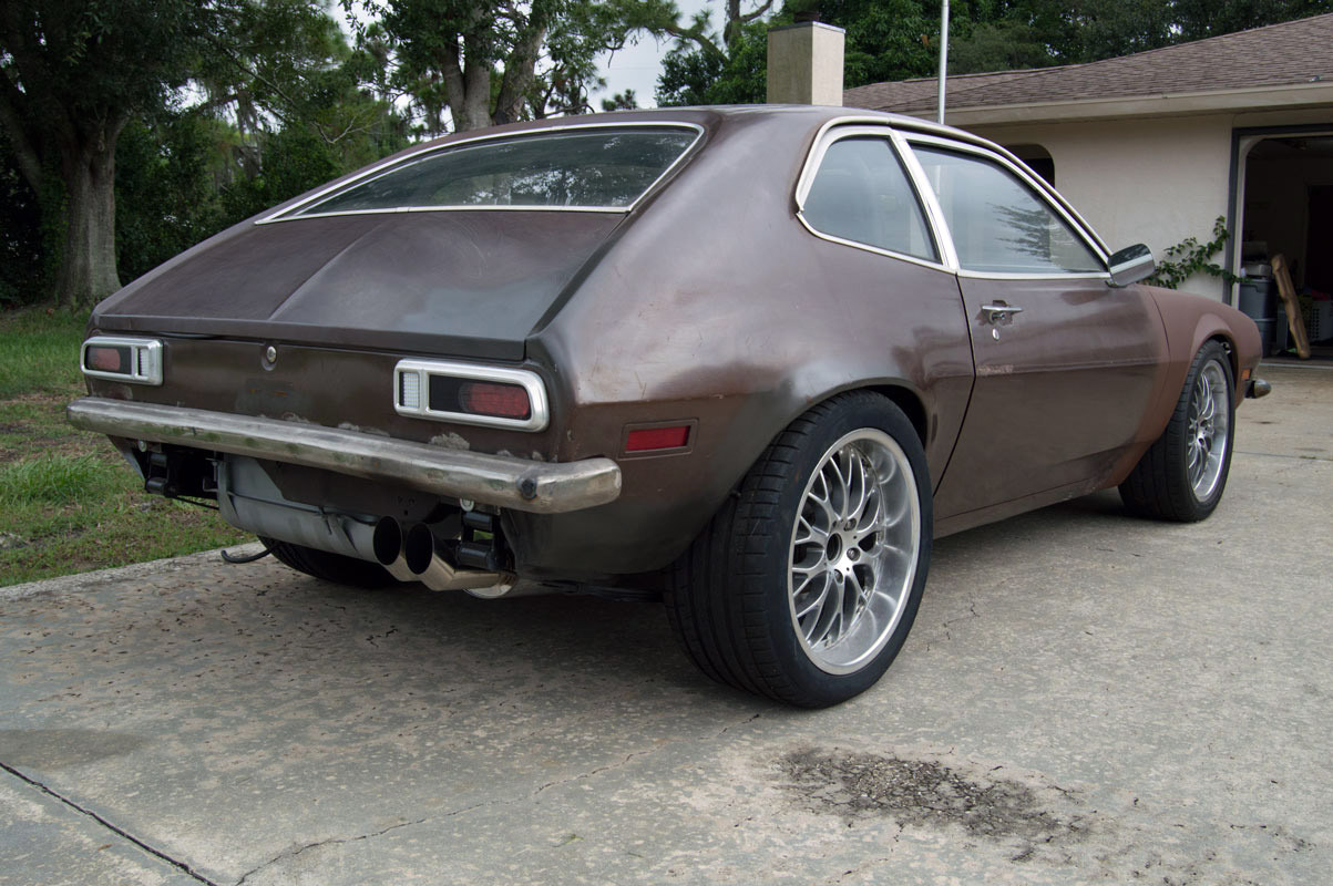 for sale pro touring 1974 pinto with a 2 3 l turbo engine swap depot. Black Bedroom Furniture Sets. Home Design Ideas