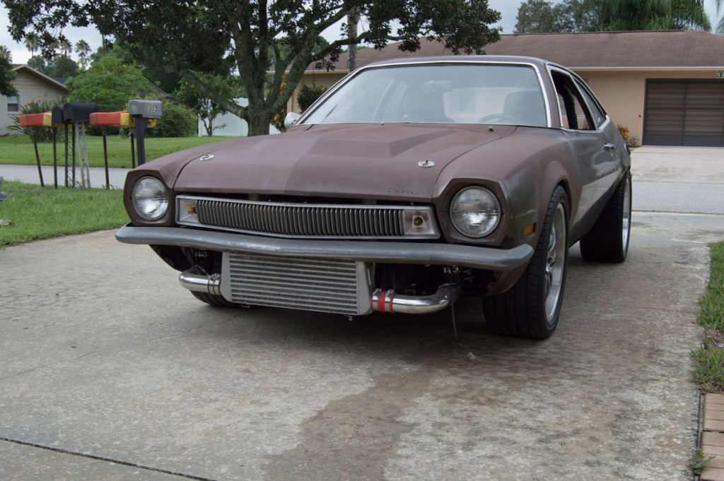Pro-touring 1974 Pinto with a 2.3 L Turbo