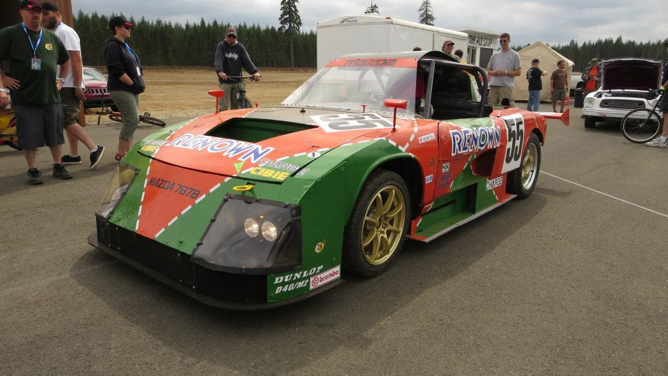 Mazda Rotary Race Car For Sale