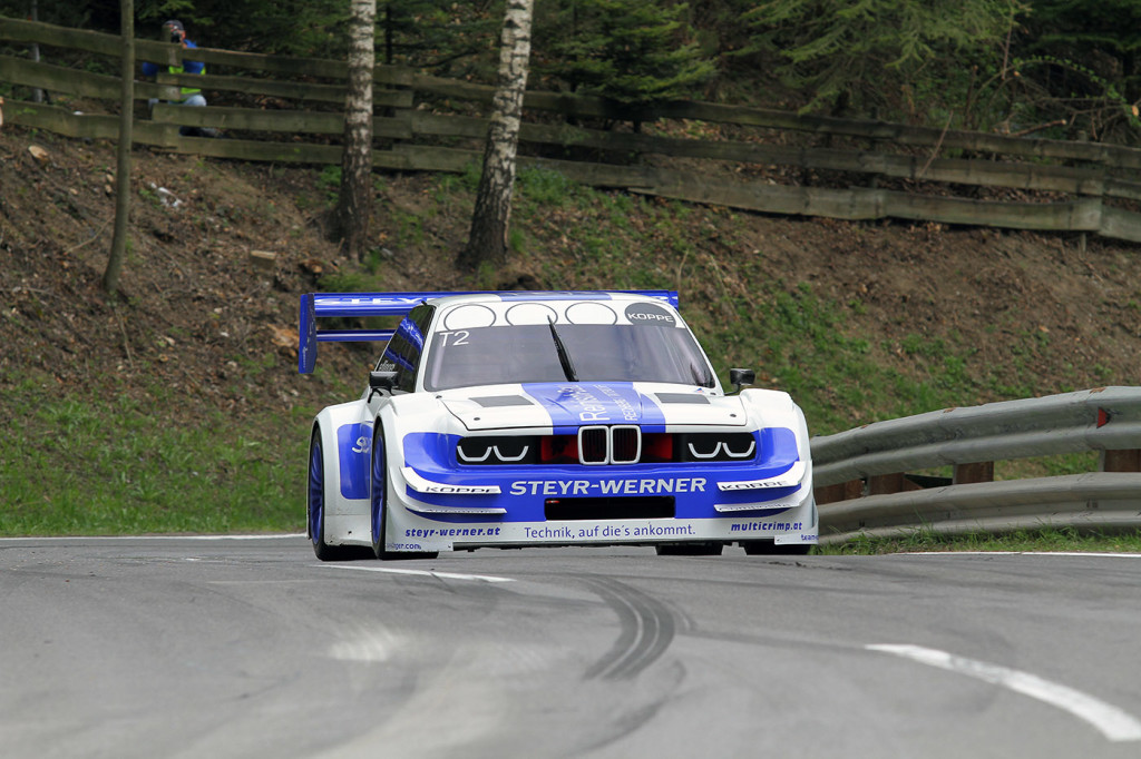 Team Edlinger BMW 320i with a 3.5 L IRL GM V8