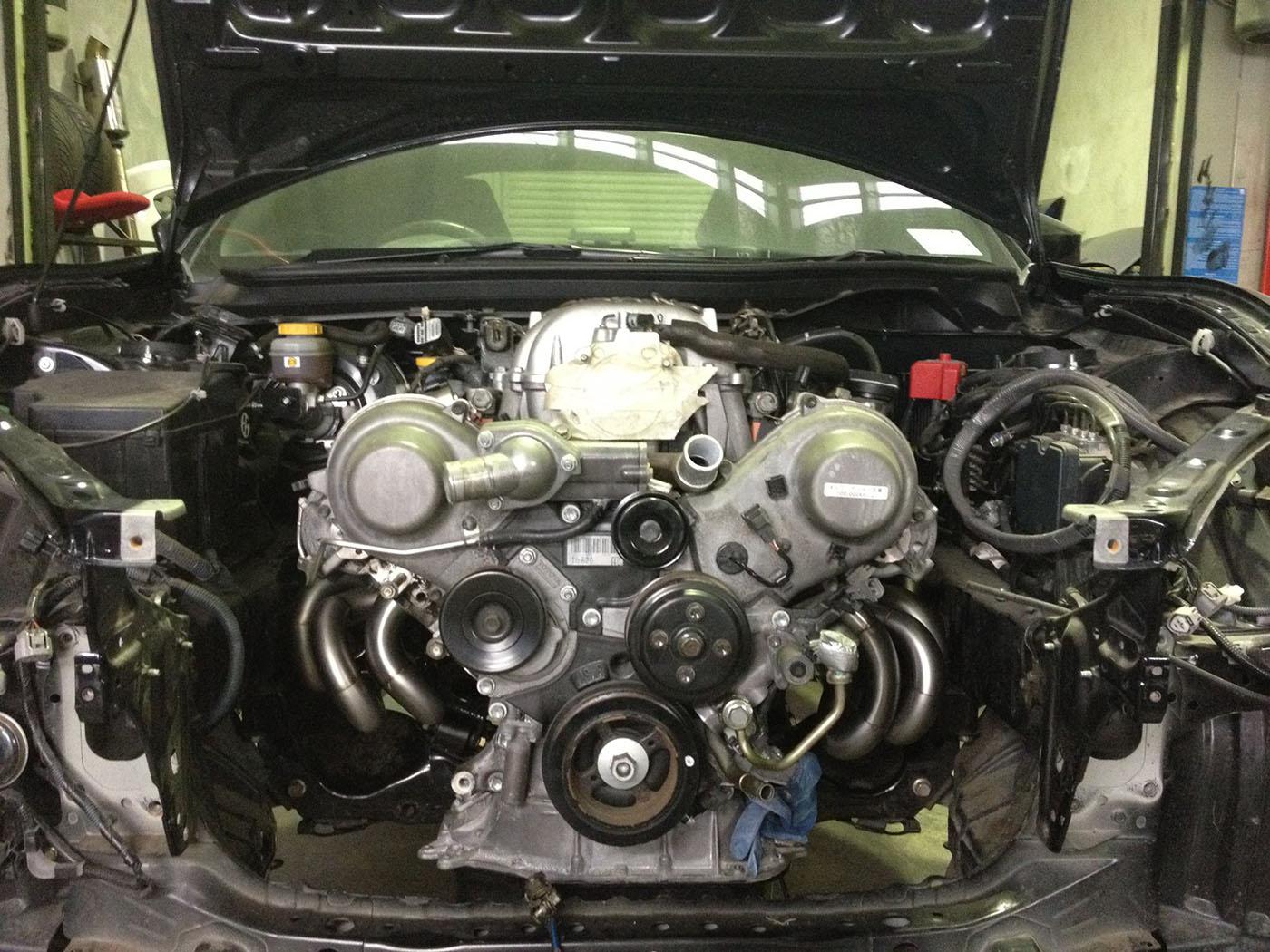 Toyota 86 with a 1UZFE    V8        Engine Swap Depot
