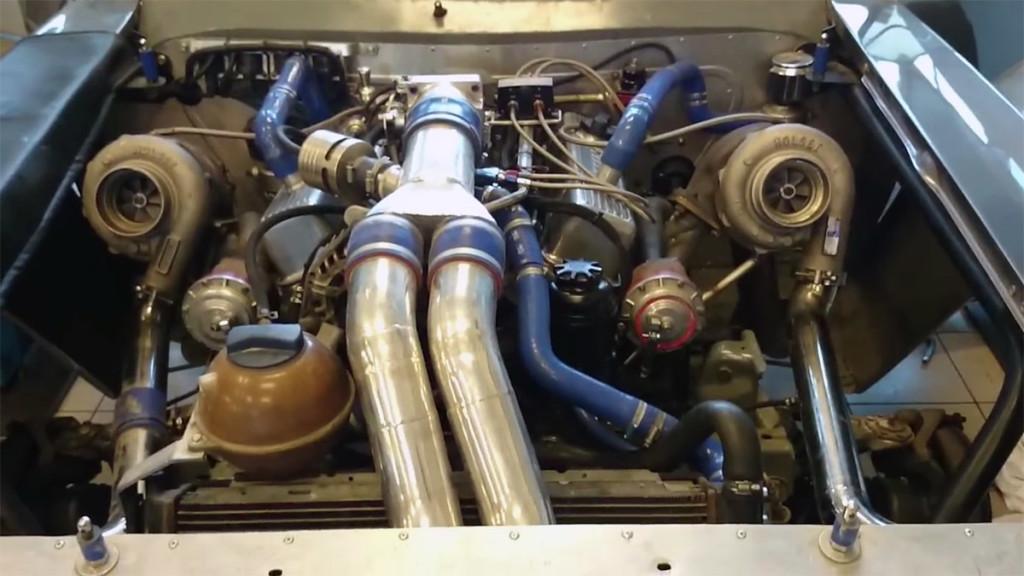 VTG AWD Camaro with a Twin-turbo SBC V8