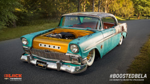 Boosted Bela 1956 Chevy Bel Air with a Supercharged LS3