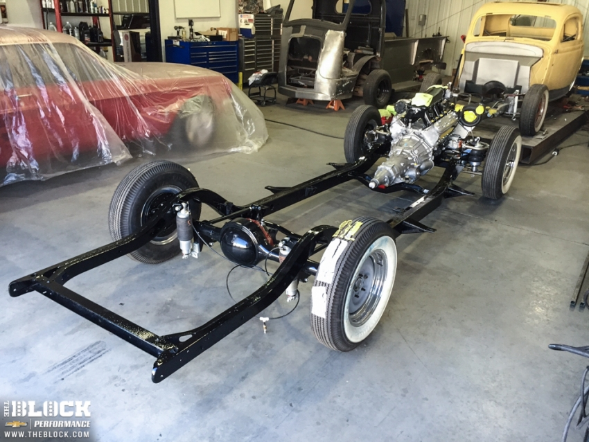 furthermore 50s 60s International Pickups Anyone Brave Enough To Build One as well Ford zephyrzodiacmk2 further Tci 55 59 Chevy Truck  plete Chassis besides Porterbuilt Coil Over Rear System 63 72 C10. on 1955 ford rear axle
