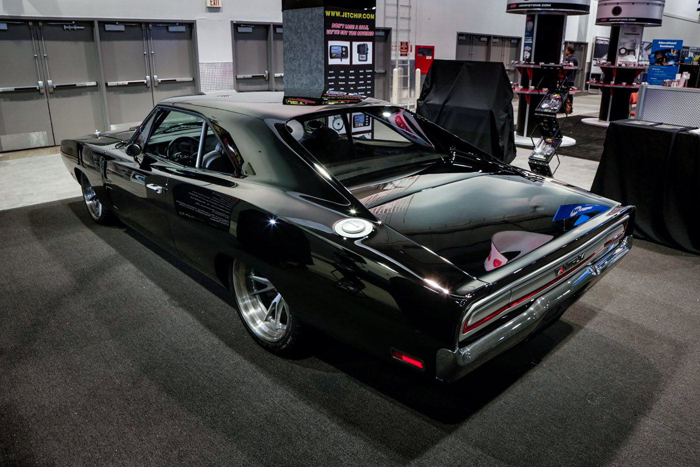 1970 Dodge Charger With A 1650 Hp Mercury Racing Engine Engine