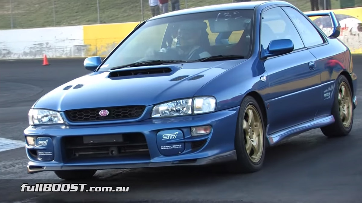 1999 Subaru WRX STI With An EJ257