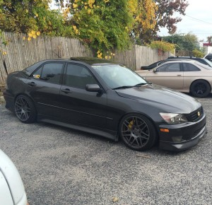 2002 Lexus IS300 with a 2JZ-GTE