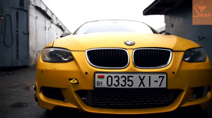 BMW E92 335 with a turbo Lancer Evo 4G63 engine