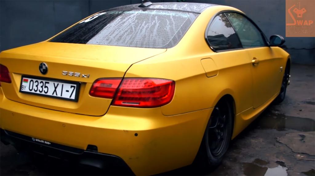 BMW E92 335 with a turbo Lancer Evo 4G63 engine