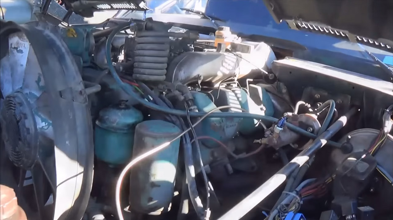Chevy Truck With A 142 L Semi V8 Update Engine Swap Depot Mack Wiring Harness Conversion