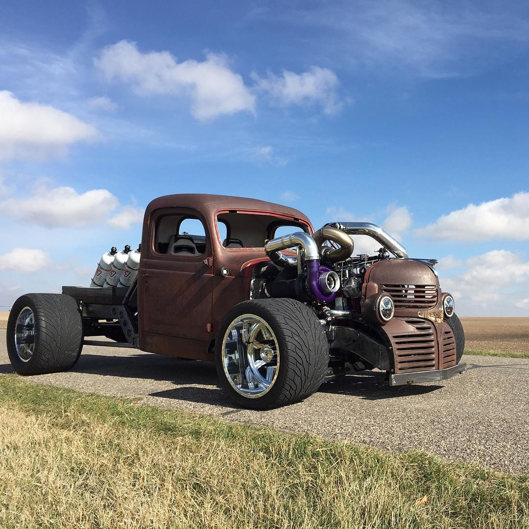 1940 Chevy Truck >> Dodge Hot Rod with a 1,300 HP Cummins I6 – Engine Swap Depot