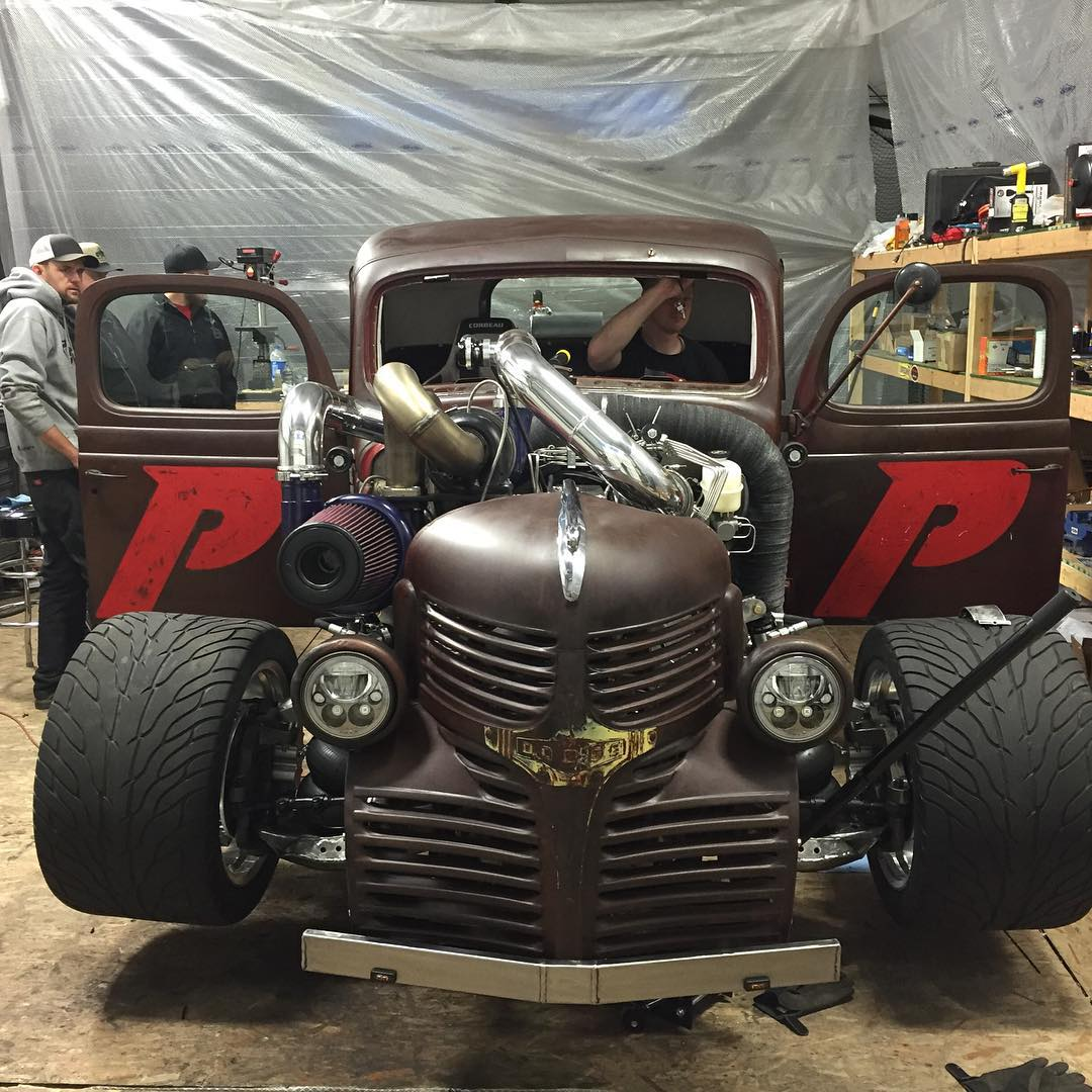 Dodge Hot Rod With A 1300 Hp Cummins I6 Engine Swap Depot Street Wiring Harness Kit An Error Occurred