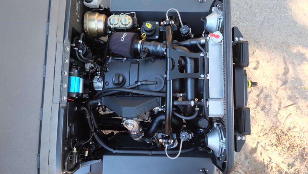 ICON CJ3B with a VW 1.9 L TDI turbo diesel inline-four