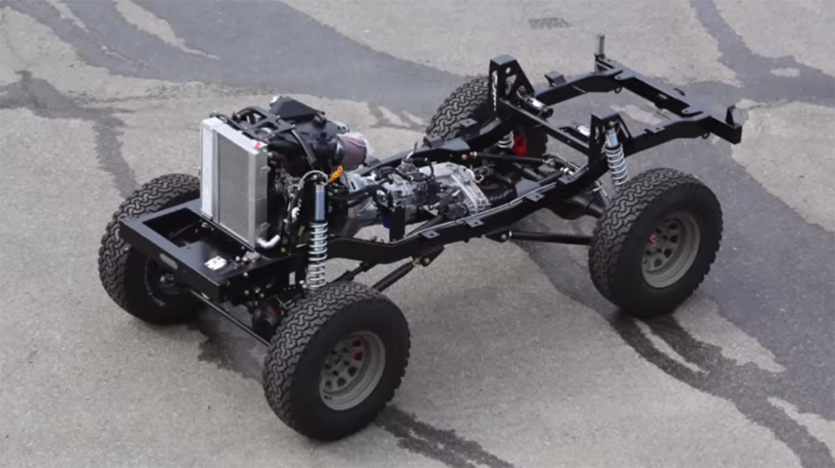 Icon Cj3b With A Vw Tdi Diesel Engine Swap Depot