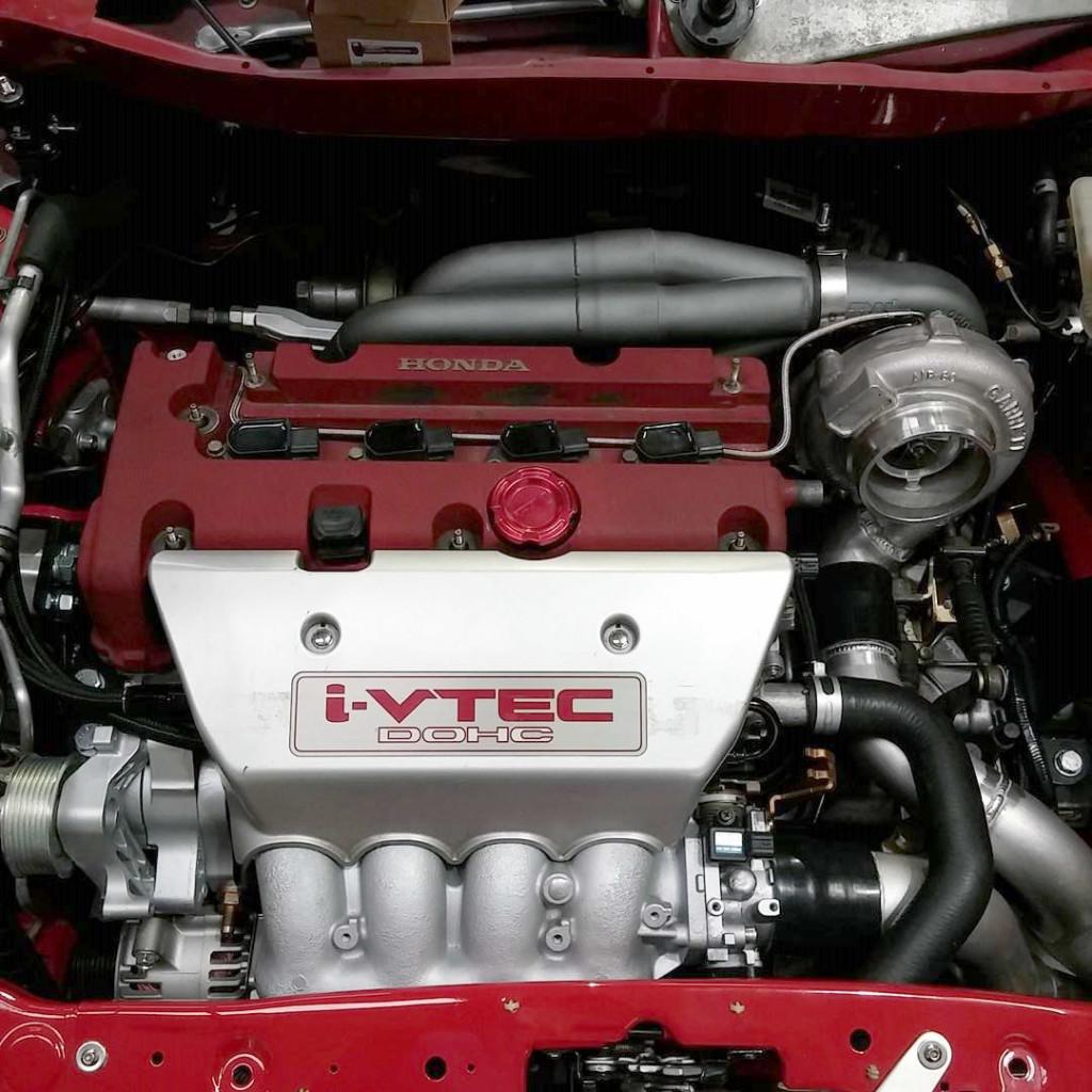 LHT Performance AWD Honda Insight with Turbo K20