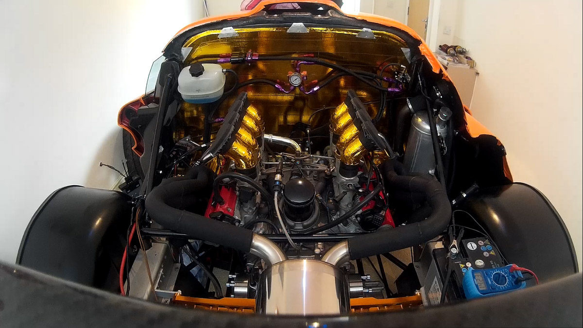 lotus exige with a ferrari f355 v8  u2013 engine swap depot