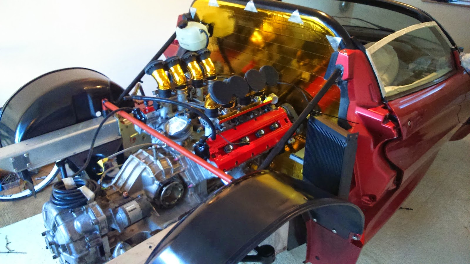 Lotus Exige With A Ferrari F355 V8 Engine Swap Depot