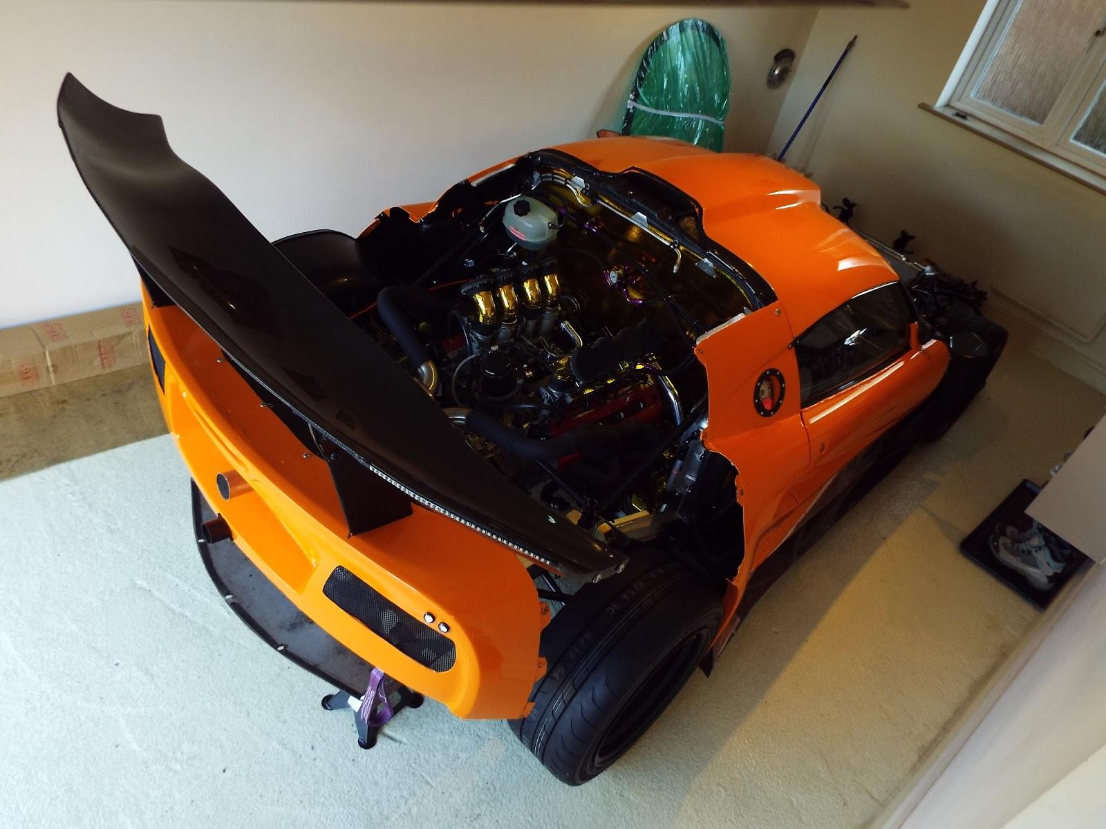 lotus exige with a ferrari f355 v8 engine swap depot. Black Bedroom Furniture Sets. Home Design Ideas