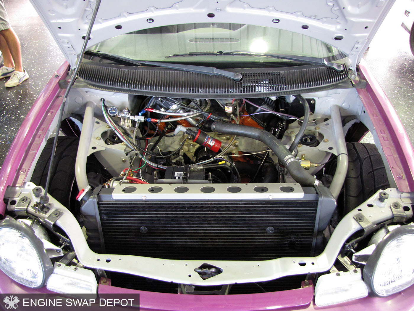 Dodge Neon With A 440 Ci V8  U2013 Engine Swap Depot