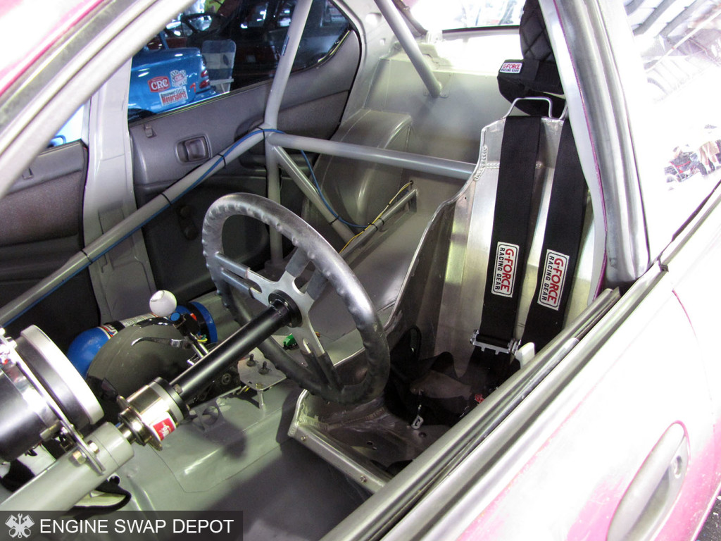 Mayflower Racing 1996 Dodge Neon with a 440 ci V8