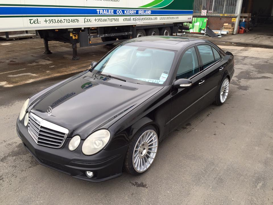 Mercedes W211 with a OM606 – Engine Swap Depot