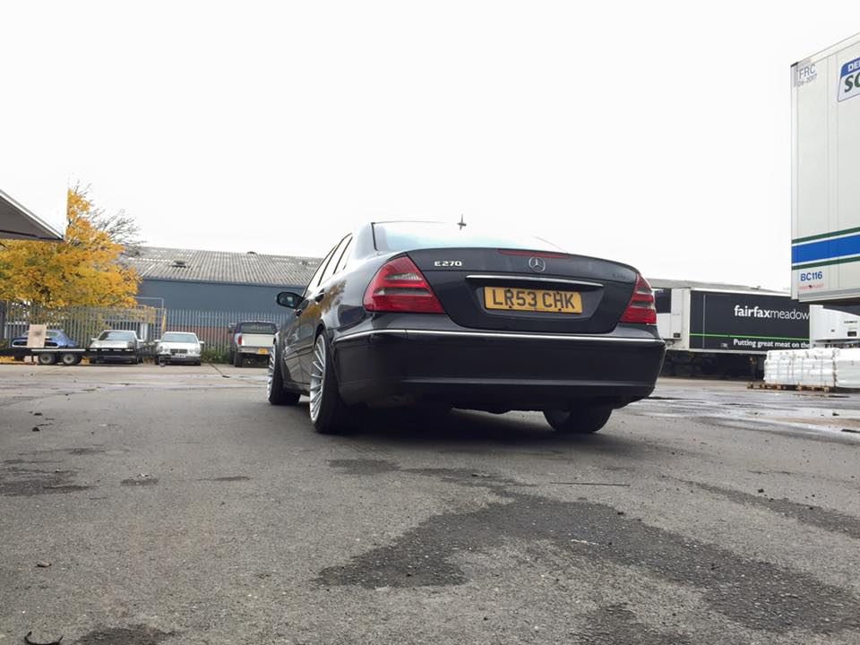 Mercedes W211 with a OM606