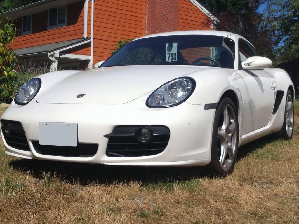 Porsche Cayman with a LS3