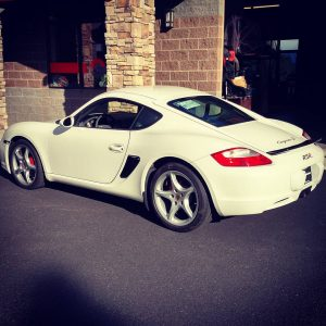 Porsche Cayman with a LS3