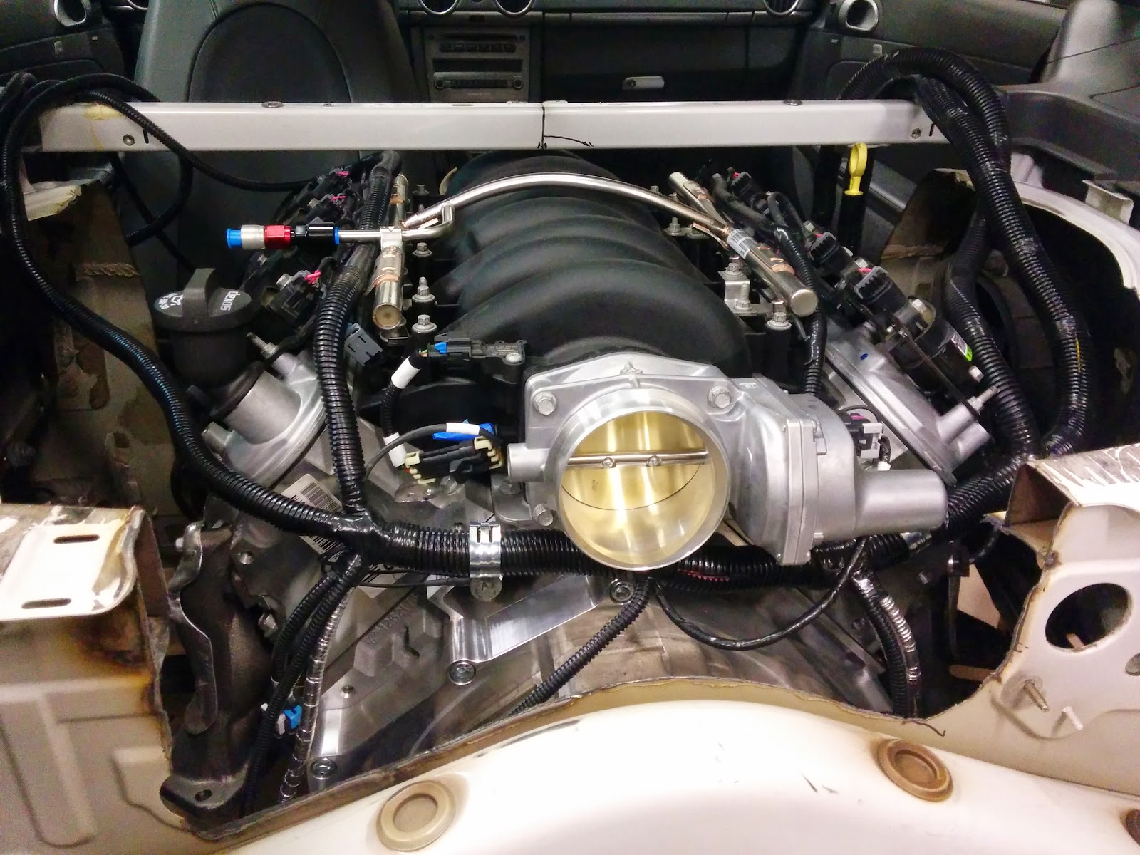 Porsche Cayman With A Ls3  U2013 Engine Swap Depot