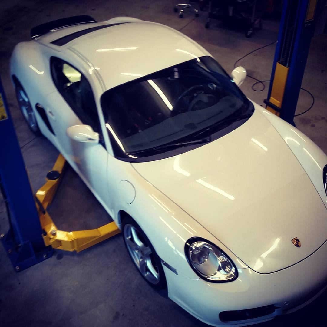 2012 Porsche Cayman Camshaft: Porsche Cayman With A LS3