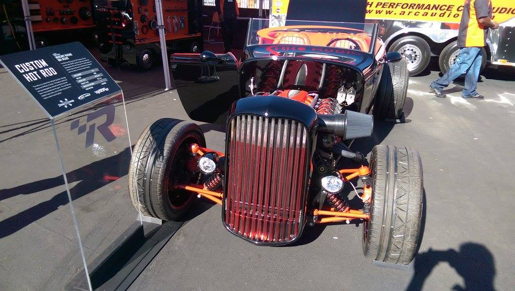 Slicks Garage 69Ultra Custom Hot Rod with Mercury Racing SB4 DOHC LS7