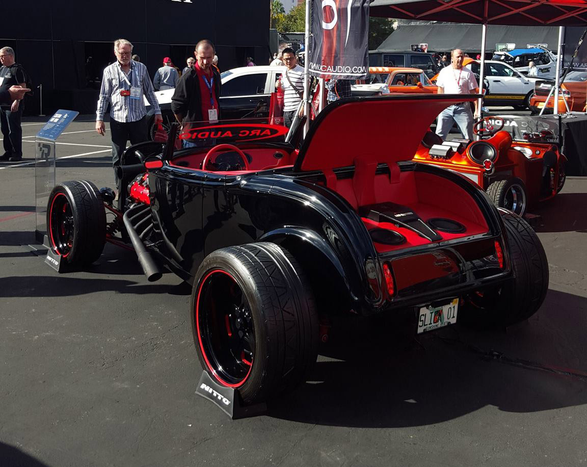 Custom Hot Rod With A DOHC LS7