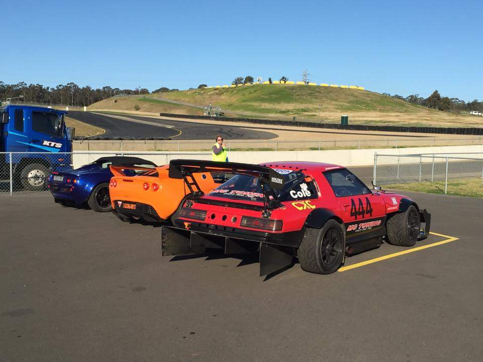 Time Attack RX-7 with a 13B-REW