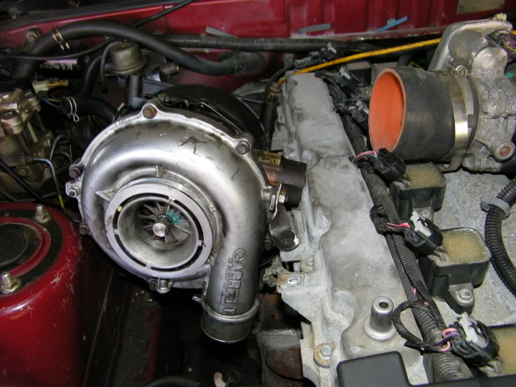 Toyota Supra with a Turbo Vortec 4200 Inline-Six – Engine